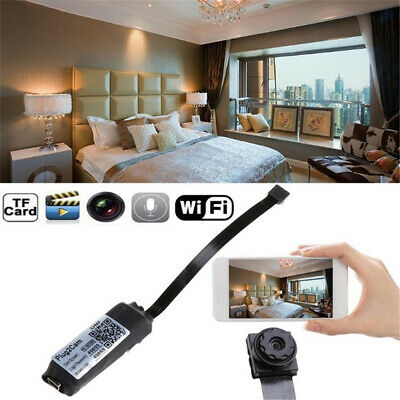 WiFi 1080P Mini Hidden Spy Camera Wireless HD Digital Video Motion Activated Cam