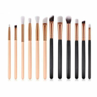 12pcs Soft Eyeshadow Makeup Brushes Set Pro Eye Shadow Blending Make Up Brush