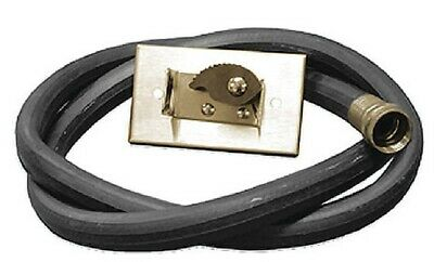 """PlumbBest Jones Stephens Corp M05-001 30"""" Hose, With Bracket, For Service Sink"""