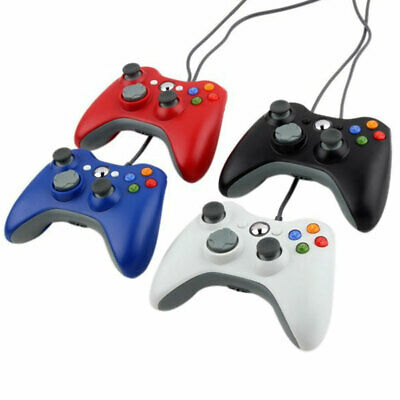 Wired USB Game Pad Handle Joypad Controller for MICROSOFT Xbox 360 Console AU
