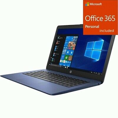 HP Stream 14-ds0000 14-ds0090nr 14  Notebook - 1366 x 768 -  + Office 365 Bundle