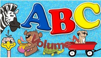 Childrens singalong Alphabet Actions Songs 2 CD Set + FREE P&P