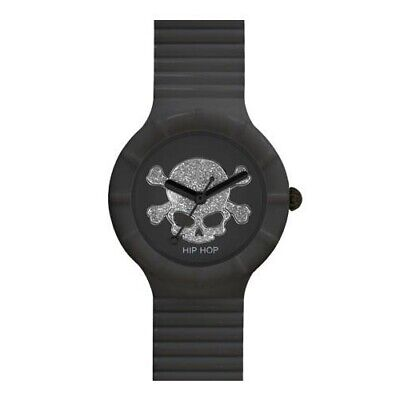 Orologio Hip Hop Skull donna nero - 32 mm HWU0450