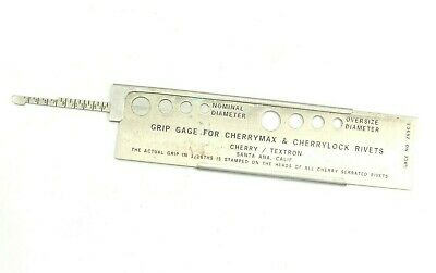 Grip Gauge For Cherrymax & cherrylock Rivets Gage NO. 269C3