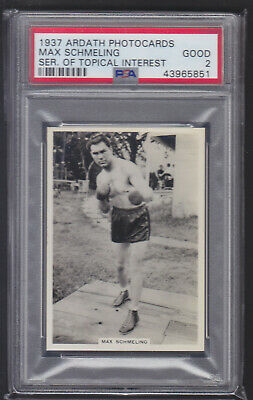 Ardath - Series of Topical Interest 1937 - Max Schmeling - PSA 2 Good