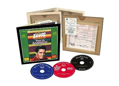 ELVIS: The Fun in Acapulco Sessions 3CD set from FTD (New & Sealed) LAST COPY