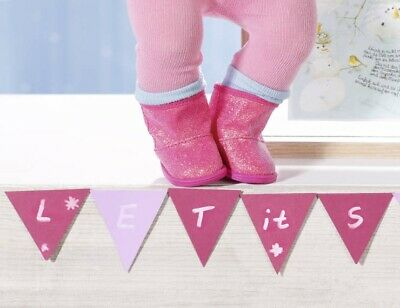 Baby Born Winter Boots Pink