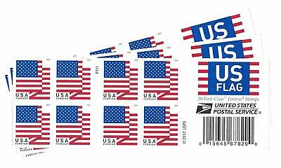 USPS US Flag 2018 Forever Stamps Book of 60 Book of 60 ((Book of 60))