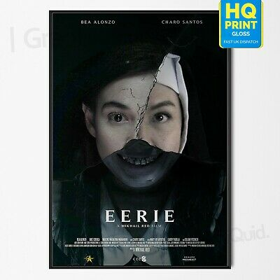 Eerie Poster Movie 2019 Thriller/Horror Bea Alonzo Film Print | A4 A3 A2 A1 |