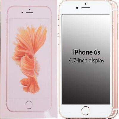New Apple iPhone 6s 32GB A1688 MN122BA/A Rose Gold Factory Unlocked 4G/LTE GSM