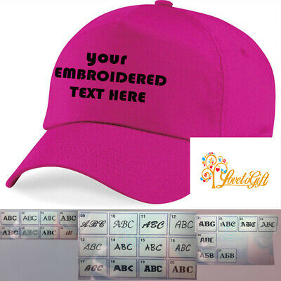 Personalised Embroidered  Baseball Cap Custom made Work Stag Hen Birthday Gift