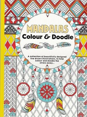 Mandala Colouring Book (Advanced) A4 Paperback 30+ Single Side Pages