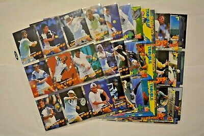 Intrepid Atp Tour Tennis 1996/1997 Trading Carte / Tutti 100 Mappe Base Completo