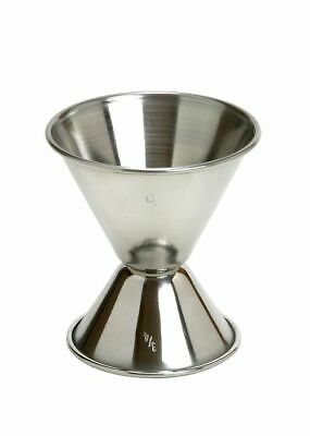 Cocktail Double Size 2cl/4cl Stainless Steel Jigger Sided Measuring Cup Barmass
