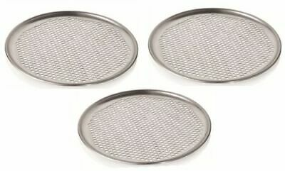 Pizza Pan Ø 22 cm with Holes Set Pizzaform Oven Tray Baking Sheet