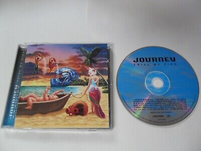 Journey - Trial by Fire (CD 1996) USA Pressing