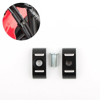 DUAL THROTTLE & Idle Cable Clamp Holder Organizer Separator