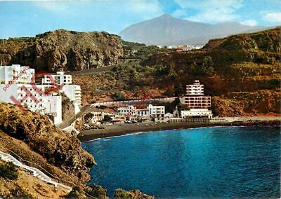 Picture Postcard>>Tenerife, Icod De Los Vinos, St. Mark Beach And Teide
