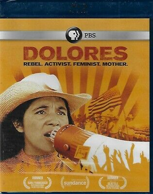PBS - Delores: Rebel, Activist, Feminist, Mother (Blu-ray, 2017) New