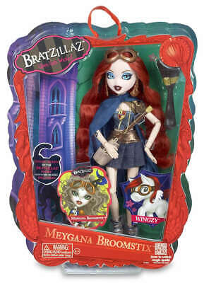 Bratzillaz MEYGANA BROOMSTIX Witch Glam Girls Get Wicked New 2012 Collectible
