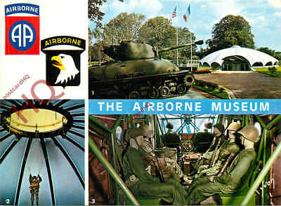 Picture Postcard:;SAINTE-MERE-EGLISE, THE AIRBORNE MUSEUM, D-DAY (MULTIVIEW)