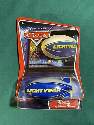 "NEW ""Al Oft the Lightyear Blimp"" Disney Pixar Cars Die-cast Toy Mattel M2952"