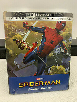 Spider-Man: Homecoming 4K UHD Steelbook-Best Buy Exclusive Rare Sold Out Sealed