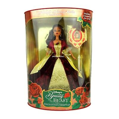 1997 Holiday Princess Belle Disneys Beauty and the Beast The Enchanted Christmas