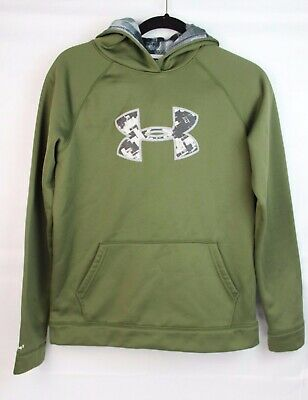 Under Armour youth boys storm loose cold gear hoodie pullover size YXL/JTG/EG