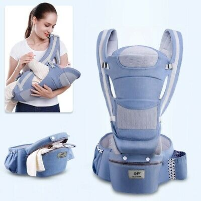 Ergonomic Baby Carrier Infant Baby Hipseat Carrier Front Facing Kangaroo 0-48M