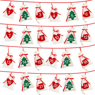 Holiday Gift Bags Art Pendant Party Christmas Office Xmas tree Household