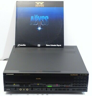 Rare Pioneer Cld-V700 Laserdisc Cd Cdv Player With Karaoke - Works Great Look!!!