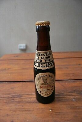 Unopened vintage Guinness is Good For You Foreign Extra Stout 6.6 fl oz bottle