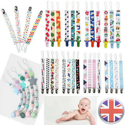 Dummy Clip Toddler Baby Soother Nipple Clips Chain Holder Pacifier Teething Toys