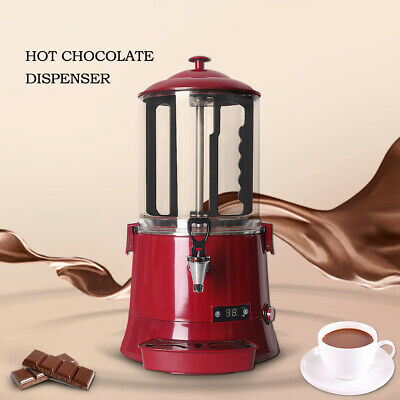 10L Hot Chocolate Dispenser Tempering Machine with Mixing Paddle Faucet 500W