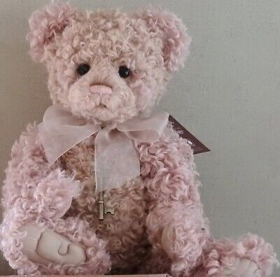 Charlie Bear Esther (Qvc Secret Collection) Brand New In Her Qvc Box 600 Made