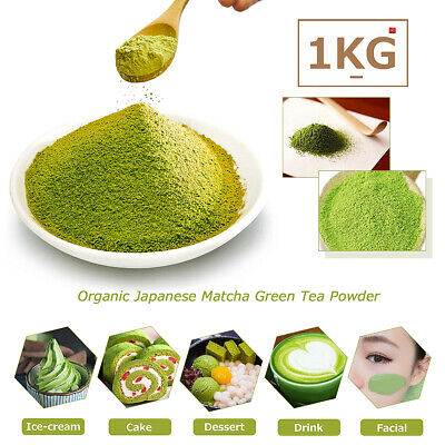 500/1000g Natural Matcha Green Tea Powder Pure Organic Certified Health Dessert