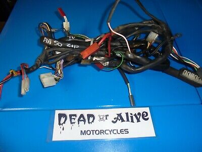 PIAGGIO ZIP 50cc  (1996)   COMPLETE WIRING HARNESS / LOOM