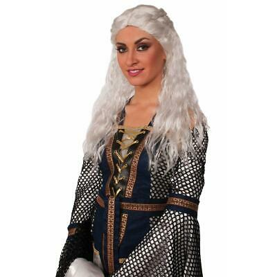 Medieval Fantasy Lady Faire Adult Costume Wig