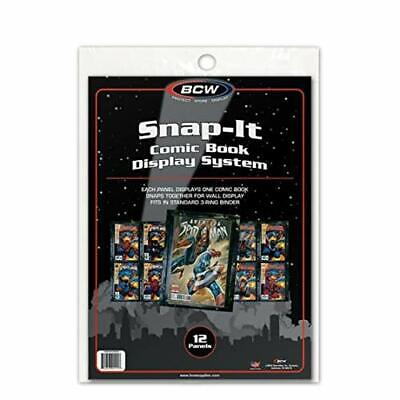 BCW 12 Snap-It Comic Book Display System for Current and Silver Age Comics