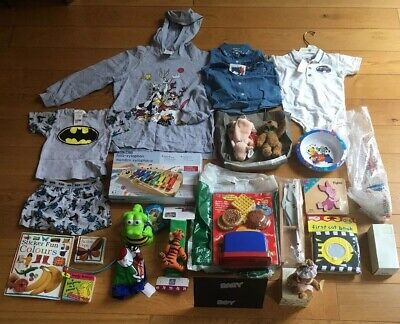 Wholesale Joblot Of Baby And Toddler Toys Games Clothes Gifts Books ELC New 24