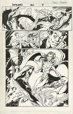 Defenders: From the Marvel Vault  #1   Page 8   Original Art