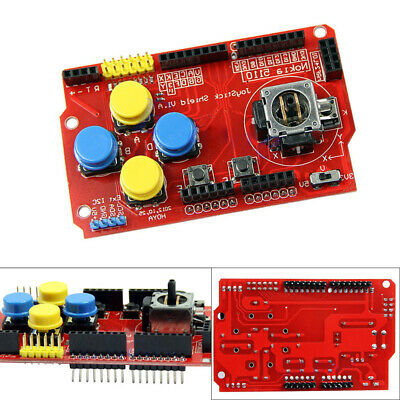 Joystick Pad Keypad Shield PS2 Gamepads Board Module for Arduino Raspberry Pi