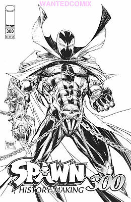 SPAWN #300 COVER B TODD McFARLANE SKETCH VARIANT IMAGE SEPT 2019 NEW 1 SOLD OUT