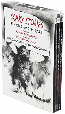 Scary Stories Paperback Box Set The Complete 3-Book Collection with Classic A...