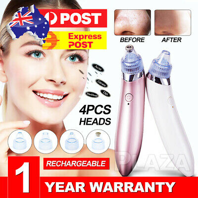 Electric Facial Skin Care Pore Blackhead Remover Cleaner Vacuum Acne
