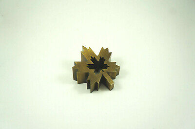 Francois Dallegret maple leaf paperweight / wall decor - Air Canada, 1980s zinc