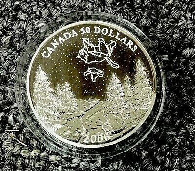 CANADA 2006 SPRING $50  1oz Palladium Big & Little Bear Constellations, 300 POP.