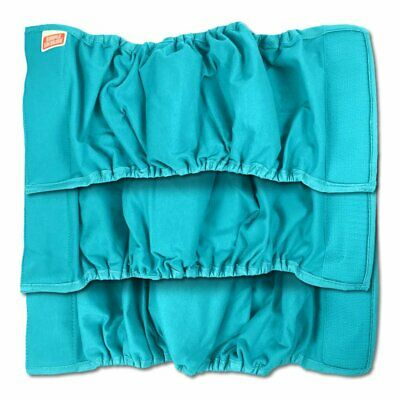 Simple Solution Washable Male Dog Diapers | Absorbent Male Wraps with Leak Pr...
