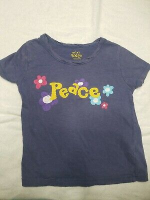 HEART OR FLOWER  AGE 3-12  BNWOT MINI BODEN HAND EMBELLISHED BEADED T/'SHIRT TOP